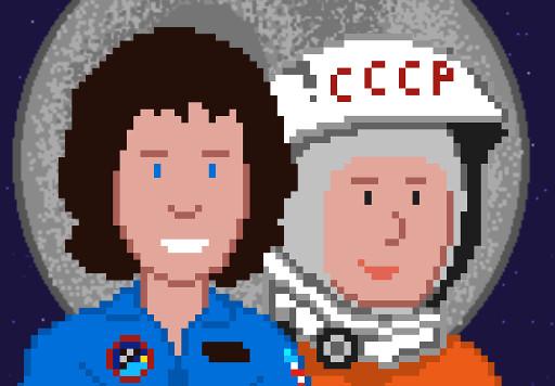 Icono Mujeres Espaciales